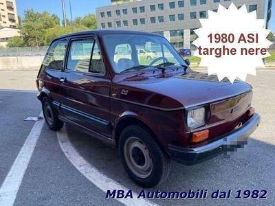 usata Fiat 126 650 RED - ASI - 40 Anni - targhe nere rif. 13649958