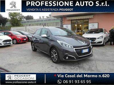usata Peugeot 208 ALLURE GPL PureTech 82 NAVY+BRACCIOLO+RETROCAM NEO