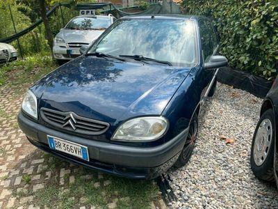 usata Citroën Saxo 1.1 benzina 5 porte neopatentati