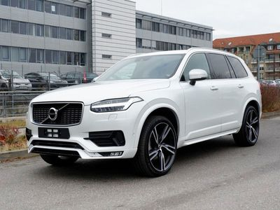 brugt Volvo XC90 D5 Awd Geartronic Rdesign 7-sitze Led Blis