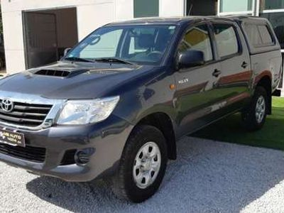 usata Toyota HiLux 2.5 D-4D 4WD 4p. DC Activex /GANCIO TRAINO