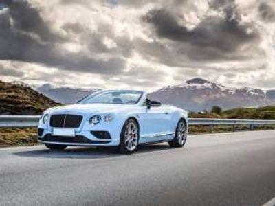 usata Bentley Continental GT V8 S Convertible Benzina