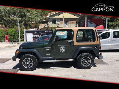 usata Jeep Wrangler 2.5 CAT GPL HARD TOP