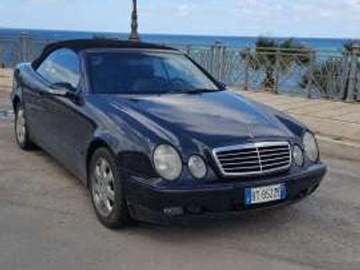 usata Mercedes CLK200 Kompressor cat Cabrio Avantgarde