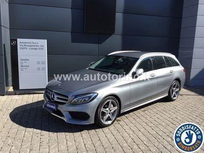 usata Mercedes E250 CLASSE C SW C SW d (BT) Premium 4matic auto