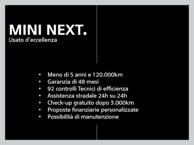 usata Mini Cooper D 1.55 porte del 2016 usata a Brescia