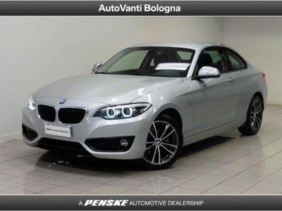 brugt BMW 218 d Coupé Sport