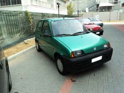 usata Fiat Cinquecento 900i cat GPL