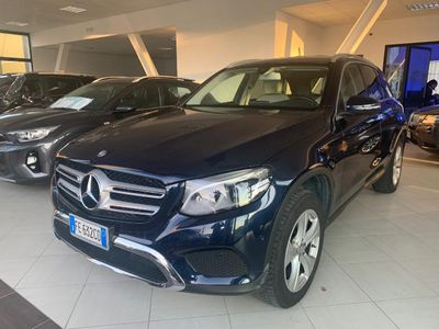usata Mercedes GLC250 d 4Matic Executive interno PELLE
