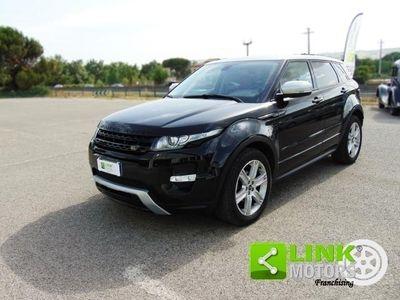 używany Land Rover Range Rover evoque 2.2 5P Dynamic Limited Edition, anno 2013, manutenzione curata