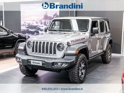 usata Jeep Wrangler JL UNLIMITED Jl Unlimited My20 Rubicon 2.2 Ds 200cv At8