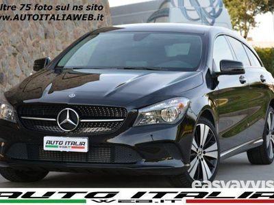 begagnad Mercedes CLA200 Shooting Brake D AUTO SPORT+NAV+CAM+18+TEL+P.NIGHT