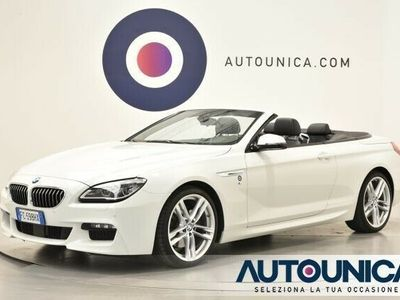 usata BMW 640 Cabriolet 640d xDrive Msport Edition
