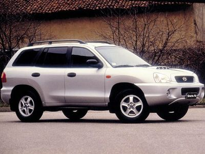 używany Hyundai Santa Fe 2.0 CRDi TD 4WD GL Plus