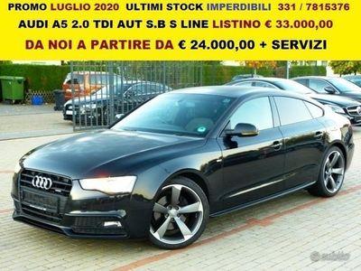 usata Audi A5 2.0 tdi aut s.b s line varie uff
