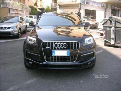 usata Audi Q7 3.0 V6 TDI 245 CV S LINE EURO 6 7 P - 2013