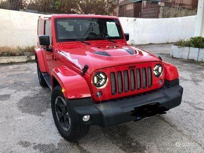 usata Jeep Wrangler 2.8 cdi autom modello x serie limita