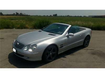 usata Mercedes SL500 cerchi AMG pelle radar.. ok permuta