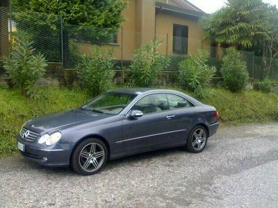 usata Mercedes CLK270 CLK 270 CDI cat Elegance