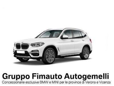 usata BMW X3 xDrive20d Luxury Aut. LISTINO EUR: 66.702
