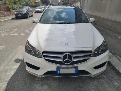 usata Mercedes E350 S.W. BlueTEC 4Matic - AMG - XENON - TETTO - CLIMA