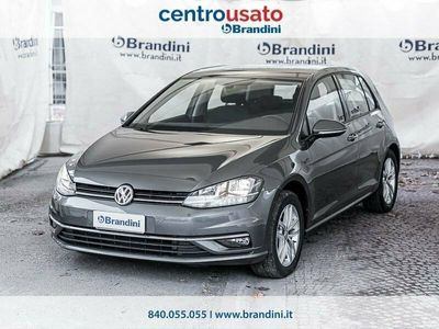 usata VW Golf VII 2017 5p 5p 1.6 tdi Business 115cv dsg