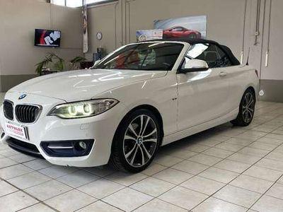 usata BMW 220 Serie 2 CABRIO Sport