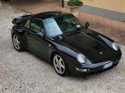 usata Porsche 993 911 3.6 biturbo cat Coupé 89.000 km - pelle verde