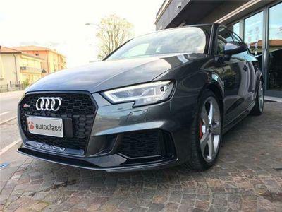 usata Audi RS3 SPB 2.5 TFSI quattro S tronic- PLUS-NAZIONALE
