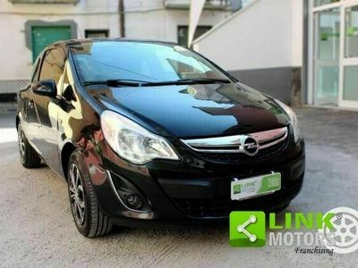 usata Opel Corsa -- 1.2 85 CV 3p. GPL-TECH Edition BASSI CONSUMI