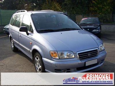 used Hyundai Trajet 2.0 CRDi TD 16V GL Comfort 7 posti,radio cd,fendin