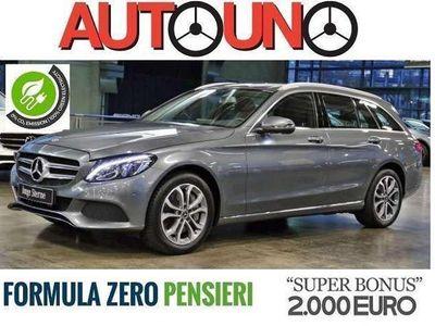 usata Mercedes C350e ClasseSW Automatic SPORT Hybrid Plug-In