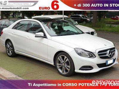 used Mercedes E220 classebluetec premium berlina unicoproprietario diesel