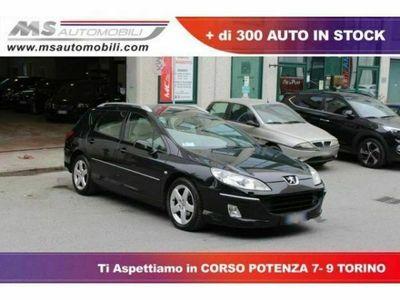 usata Peugeot 407 1ª serie 2.0 HDi SW Sport Pack Tecno Tetto Panoramico Navi