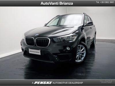 usata BMW X1 sDrive20d Advantage del 2017 usata a Desio