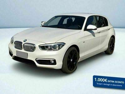 usata BMW 116 SERIE 1 (5 PORTE) d Sport 5p auto