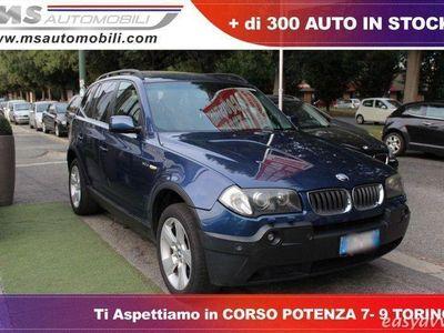 gebraucht BMW X3 3.0d Futura Pelle Tetto Panoramico Automatico Unic