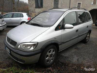 usata Opel Zafira 1.6 7posti Euro 4 benzina