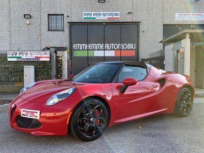 usata Alfa Romeo 4C 1750 TBi Spider SCARICO XENO CARBONIO TEMPOMAT IVA