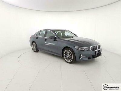 usata BMW 320 Serie 3 d xDrive Luxury del 2019 usata a Frosinone