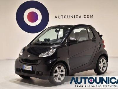 usata Smart ForTwo Cabrio 1000 PULSE SEQUENZIALE RADIO CD OTTIMA usato