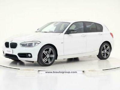 usata BMW 118 Serie 1 d Sport 5p auto my18