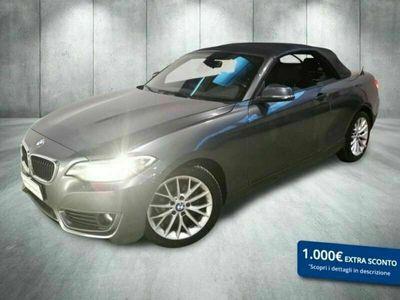 usata BMW 218 Serie 2 Cabrio d Cabrio Advantage auto