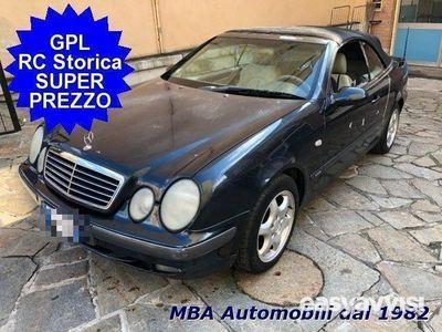 begagnad Mercedes CLK200 cabrio kompr. sport - gpl iscriv. asi benzina/gpl