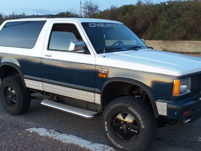 usata Chevrolet Blazer d epoca '85 cc 2.8 V6 benzina