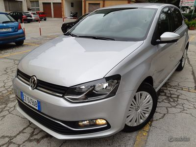 usata VW Polo 1,4 TDI-EURO 6-TAGLIANDI-VOLKSWAGE