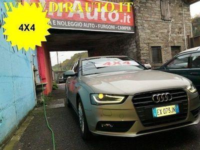usata Audi A4 Avant 2.0 TDI 190 CV clean diesel quattro Business