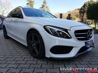 brugt Mercedes C220 d s.w. 4matic auto premium amg diesel