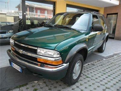 "usata Chevrolet Blazer 4.3 V6 5 Porte 4wd Ls ""unico Proprietario"" Usato"