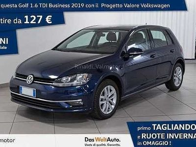 usata VW Golf Golf 7ª serie1.6 TDI 115 CV 5p. Business BlueMoti